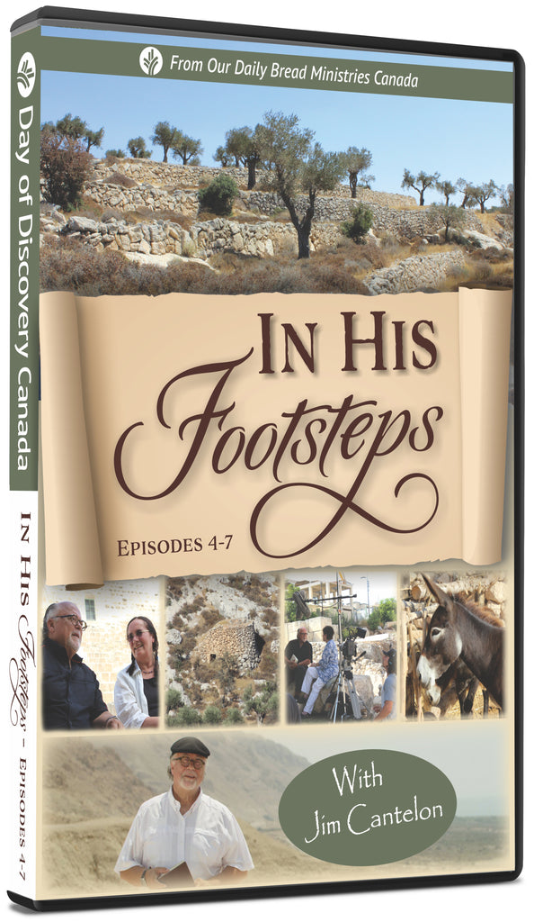 In His Footsteps - Episodes 4-7 (DVD)