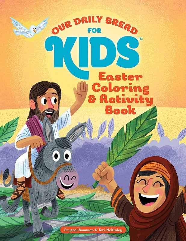Easter Coloring and Activity Book