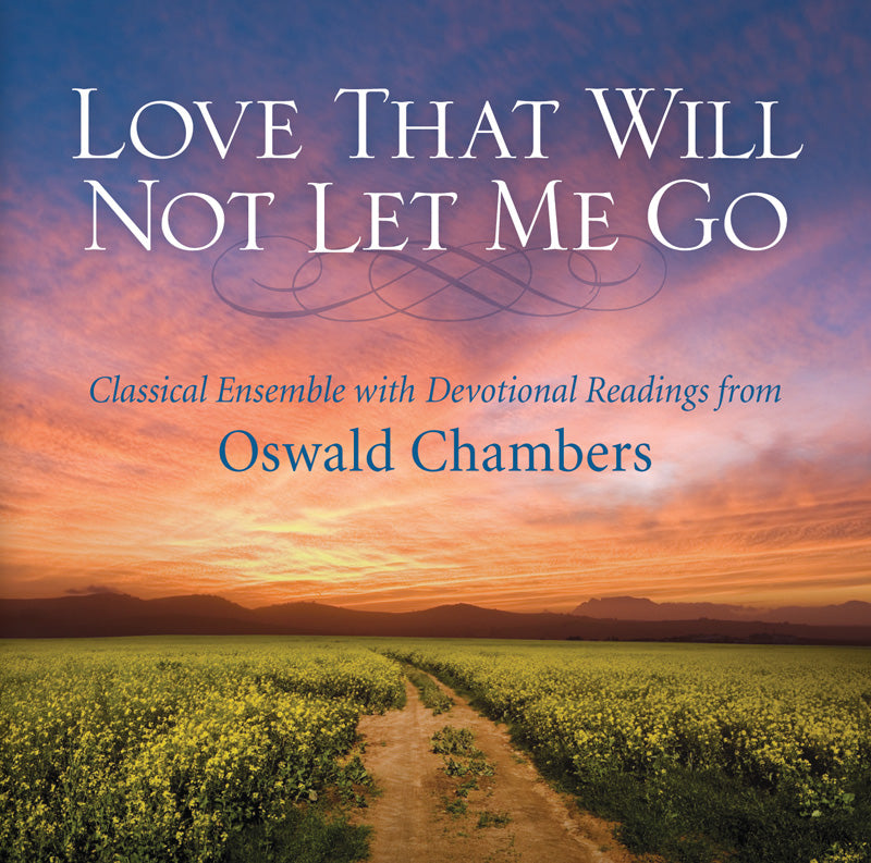 Love That Will Not Let Me Go (CD)