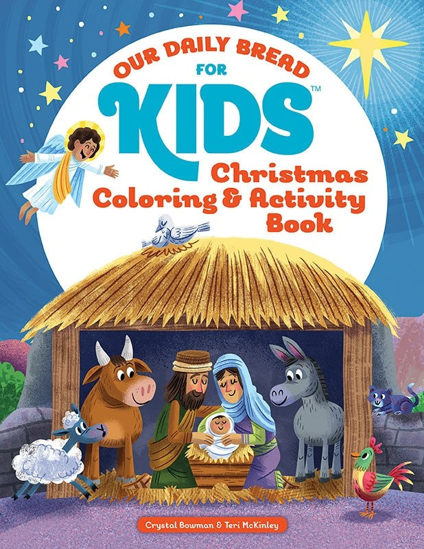 Our Daily Bread for Kids - Christmas Coloring & Activity Book