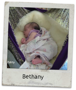 Baby Bethany Happy Hangup
