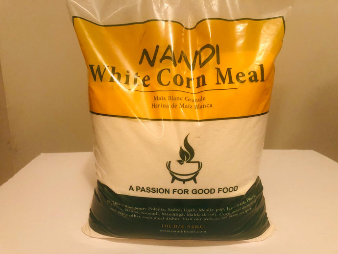 Nandi White Corn Meal 10lb