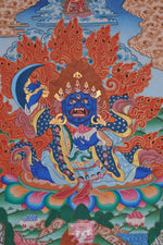 Lade das Bild in den Galerie-Viewer, Vajrabhairava / Yamantaka Thangka