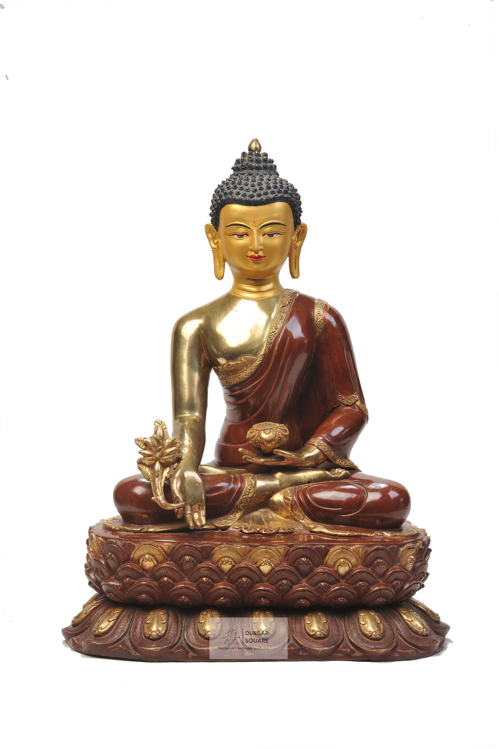 Gold Plated Medicine Buddha