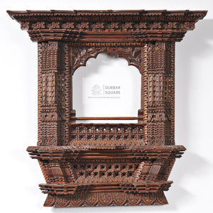 Carved Kumari Window