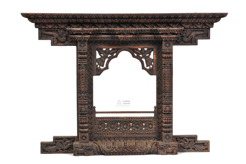 Wooden Kumari Carved window