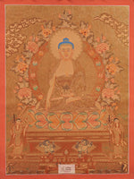 Load image into Gallery viewer, Buddha Shakyamuni Thangka
