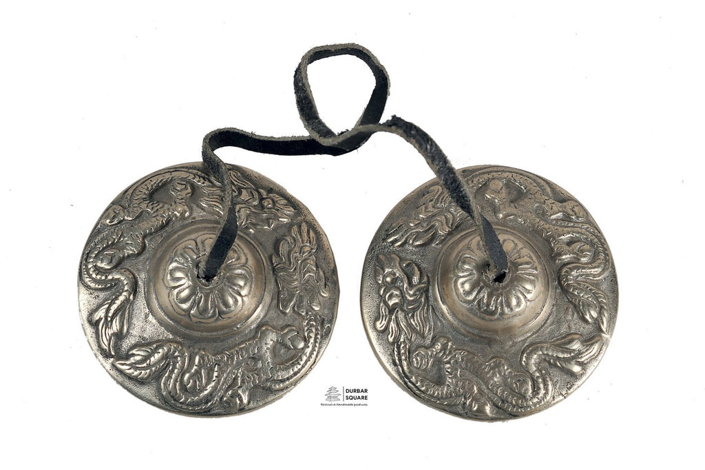 Dragon engraved Tingshya bells