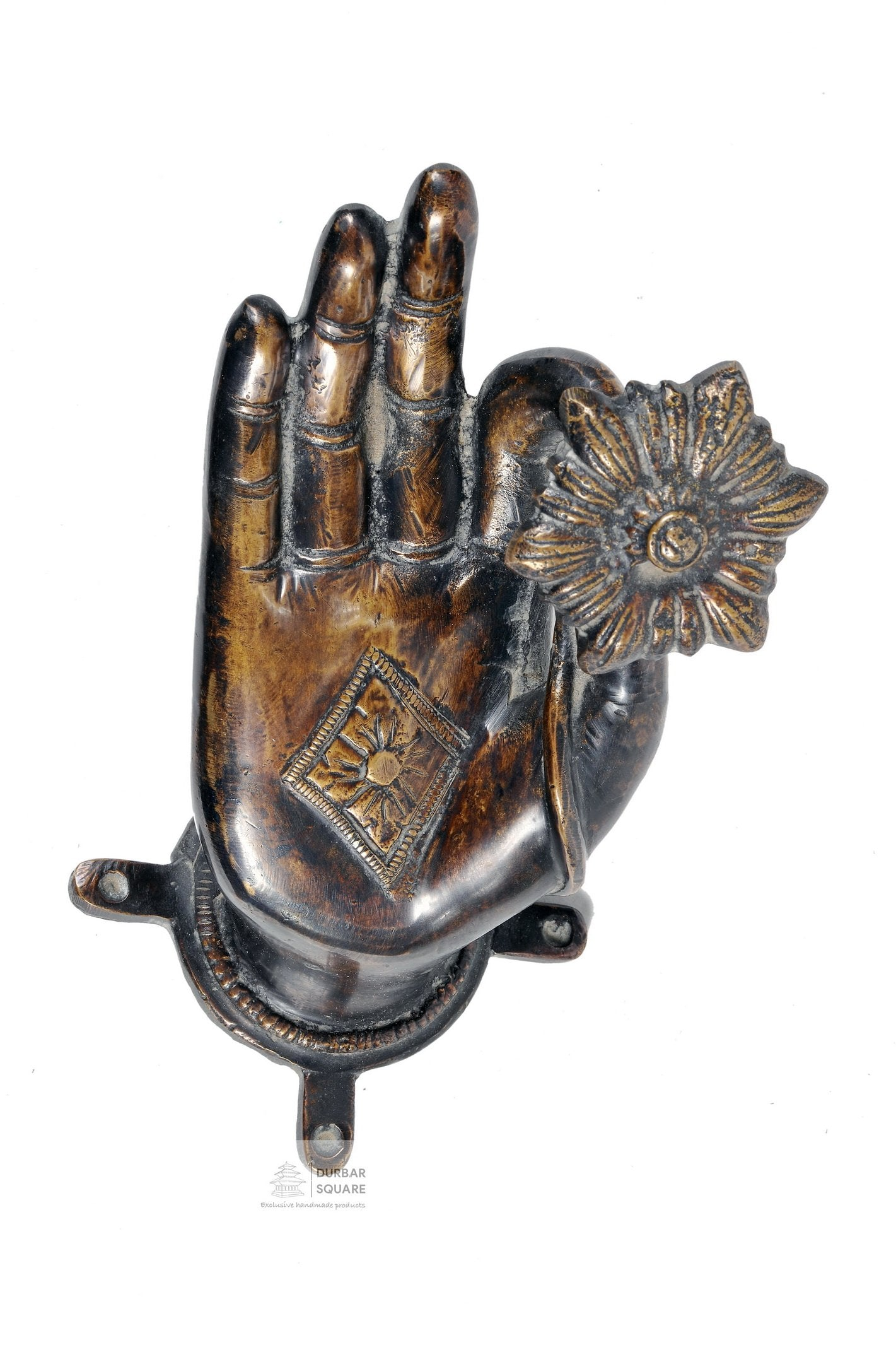 Buddha Hand Door Handle