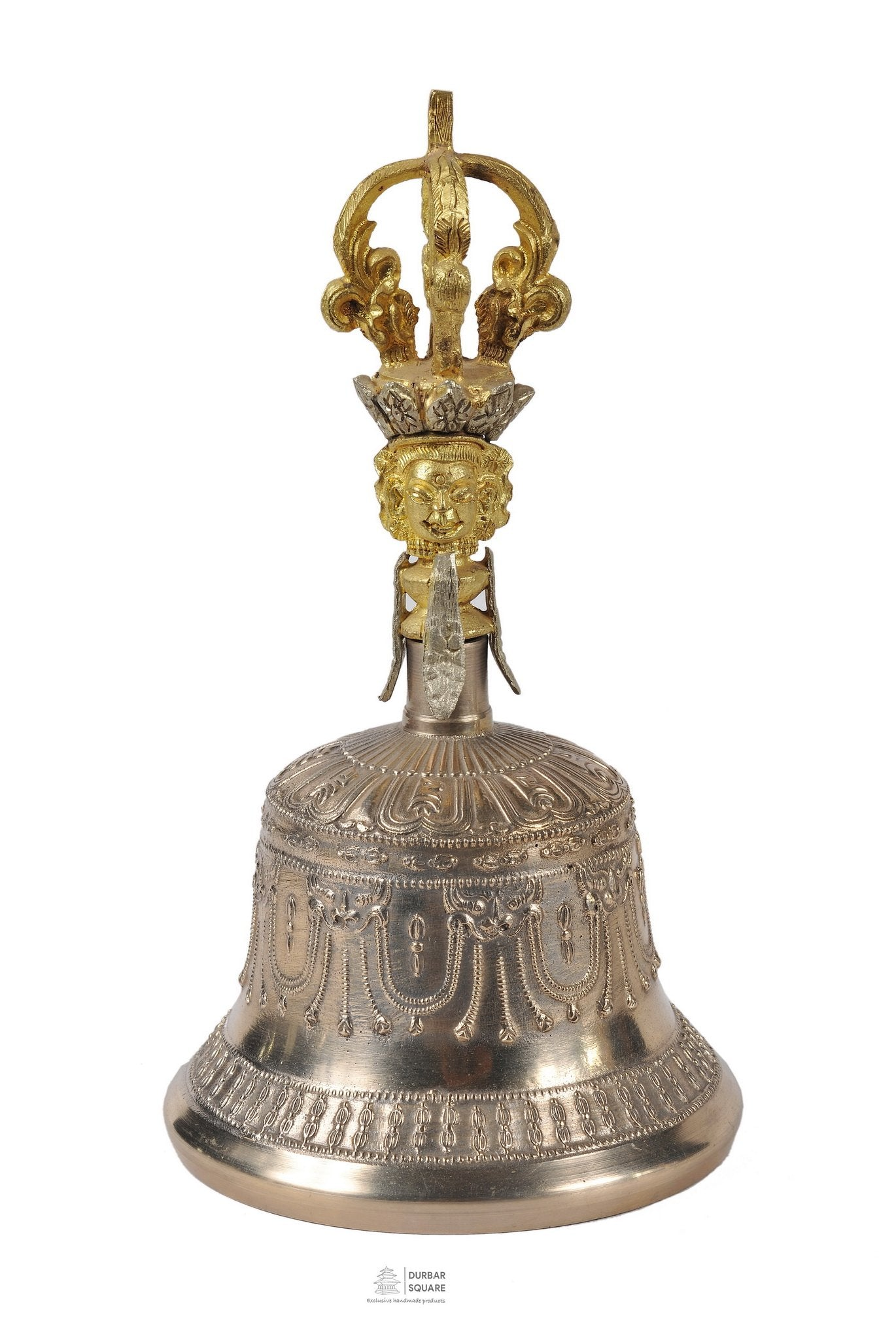 Carved Bronze Bell