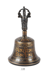 Bell with Buddhist Mantra