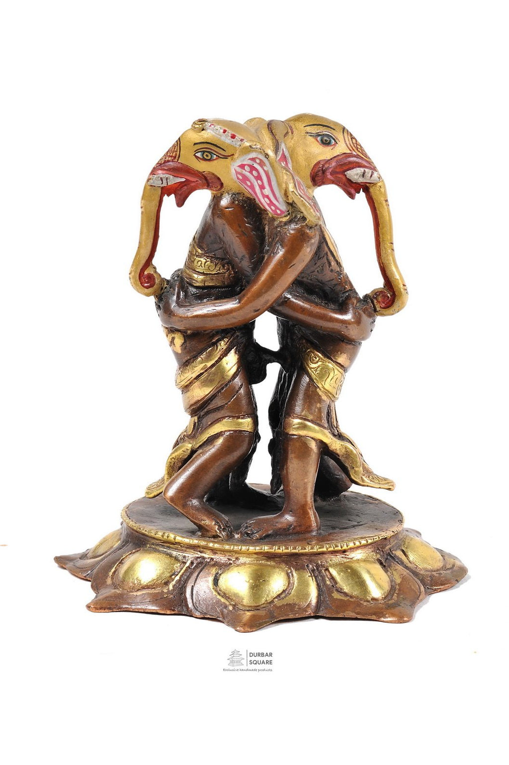 Gold plated Kangiten (Ganesha)