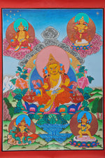 Load image into Gallery viewer, Kuber Thangka