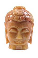 Lade das Bild in den Galerie-Viewer, Buddha Head carved out of Onyx stone
