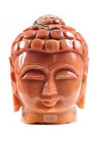 Buddha Head carved out of Onyx stone