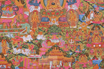 Lade das Bild in den Galerie-Viewer, Buddha Lifestory Thangka