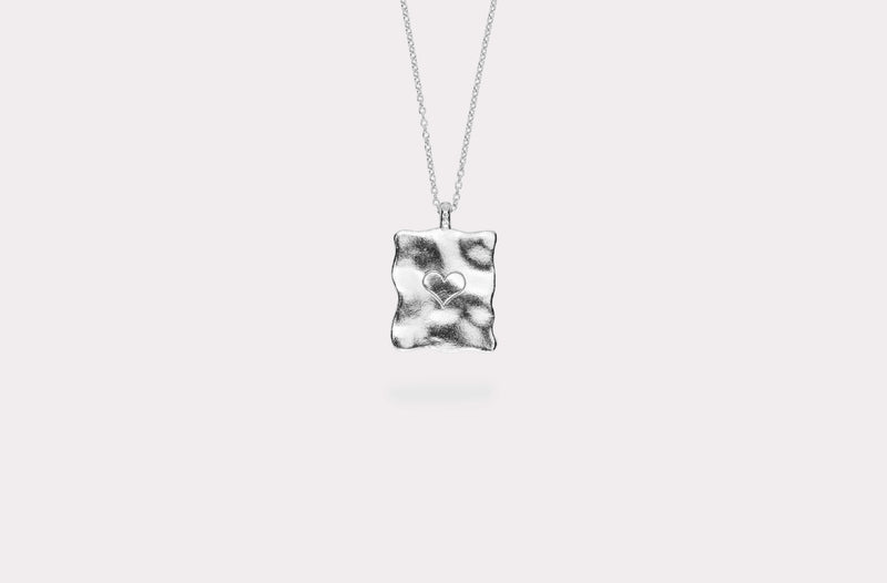 IX Destroy Cancer Pendant Silver