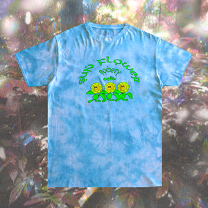 Sunflower Society Tee – Sky