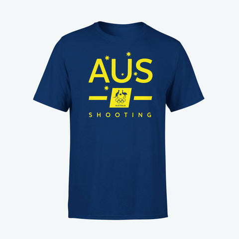 AOC Shooting Adults Navy Supporter Tee