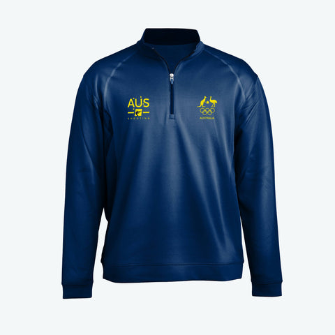 AOC Shooting Adults Navy Elite Supporter Top