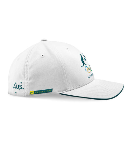 AOC Shooting Adults Cap White