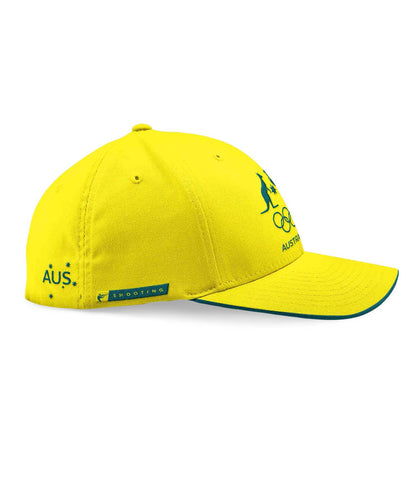 AOC Shooting Adults Cap Yellow