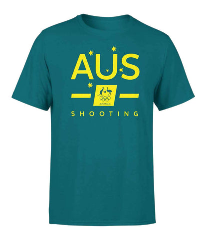 AOC Shooting Adults Green Supporter Tee