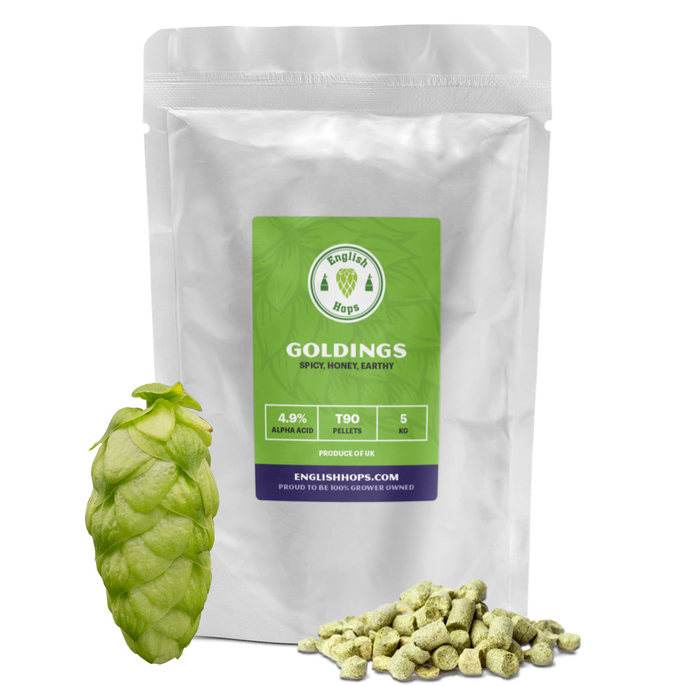 Goldings T90 Hop Pellets - 5Kg