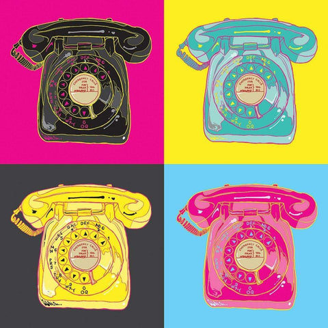 Pop Art of Phones