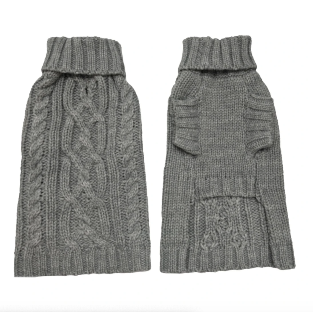 Wool Sweater - Storm Grey