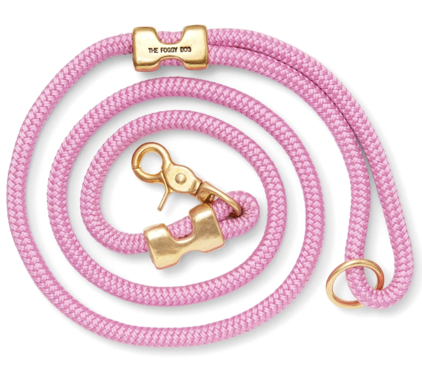 Marine Rope Dog Leash - Orchid
