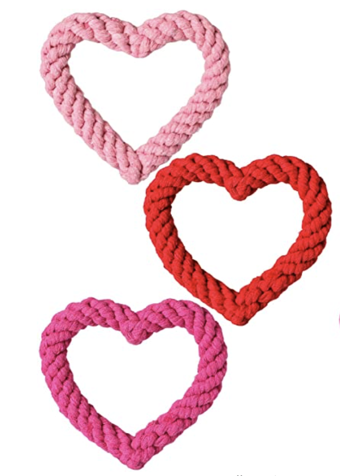 Heart Rope Tug Toy