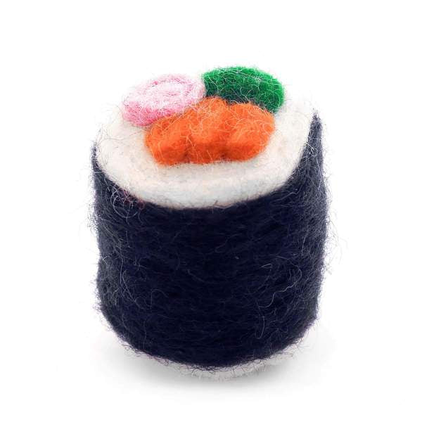 Sushi Cat Toy - California Roll
