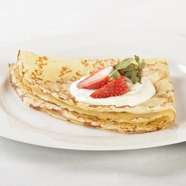 6 Wheat Crepes