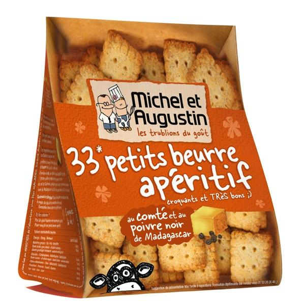 Michel et Augustin 33 Savoury Cookies with Comte Cheese and Pepper