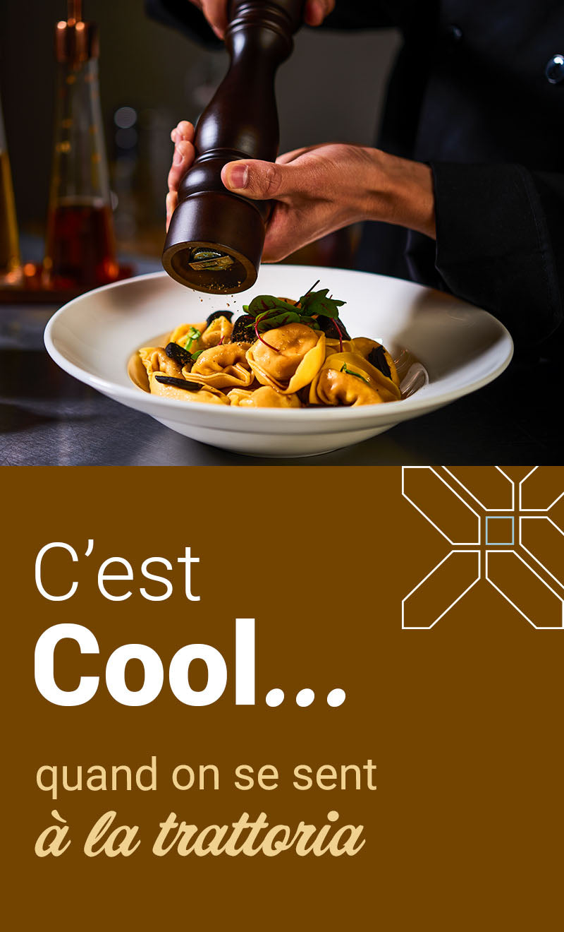 C'est Cool... quand on se sent à la trattoria