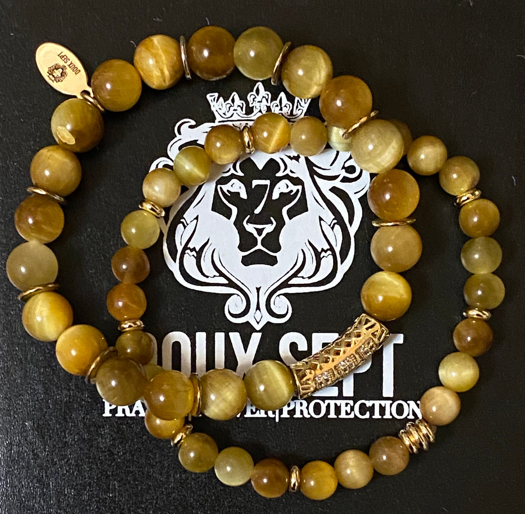 Power Is Power Set W/ Yellow Tiger Eye
