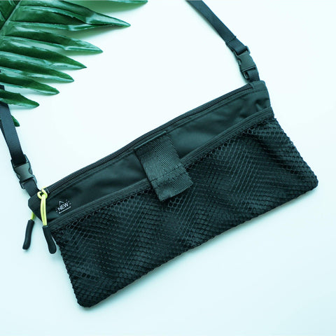 Travelmall Anti Bacterial Cross Body Bag - Black-Tactical.com
