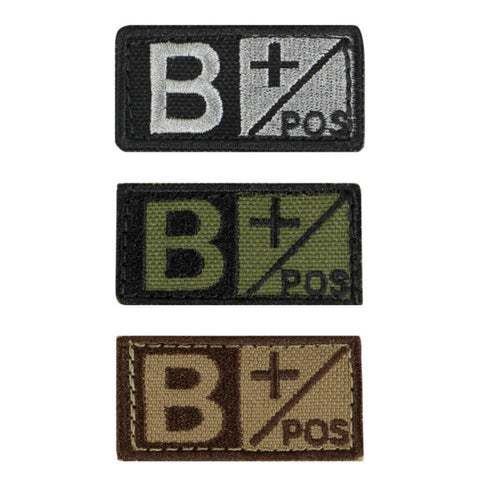 Condor - Tactical Bloodtype Patch (B+)