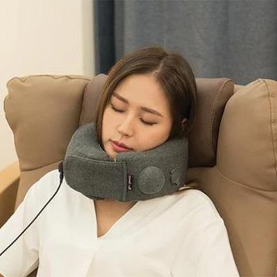 Travelmall - 3D Inflatable Neck Pillow Infrared - Black-Tactical.com