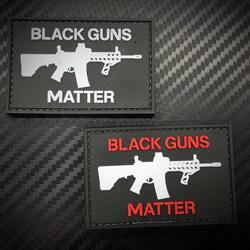Rubber Patch - Black Guns Matter - Black-Tactical.com