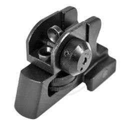 Metal Rear Sight - Black-Tactical.com