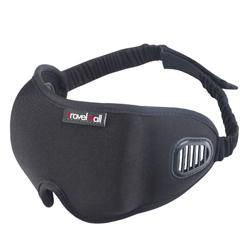 Travelmall - 3D Breathable Sleep Mask - Black-Tactical.com