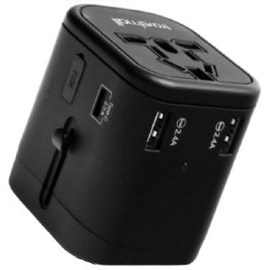 Travelmall - World Travel Adaptor with USB Type-C