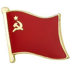 Collar Lapel Pin - Country Flag USSR
