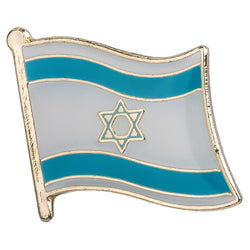 Collar Lapel Pin - Country Flag Israel