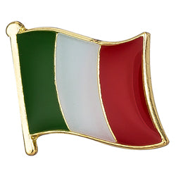 Collar Lapel Pin - Country Flag Italy