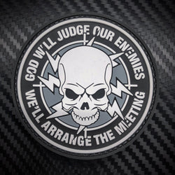 Rubber Patch - God Will Judge Our Enemies (Big)