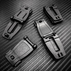 MOLLE to MOLLE Webbing Connector Clip Buckle (4pc)