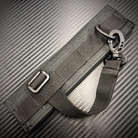 Molle Headset Cover with carry clip - Black-Tactical.com